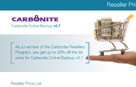 Carbonite Sales Kit