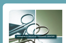 Mansfield Medical Training Center Sales Kit