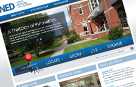 Natick Economic Development-Corporate Website